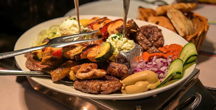Блюдо Тадж Махал (Дубровник, Хорватия)