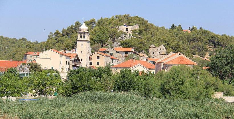 Город Скрадин в Хорватии