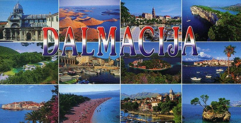 Регион Далмация в Хорватии