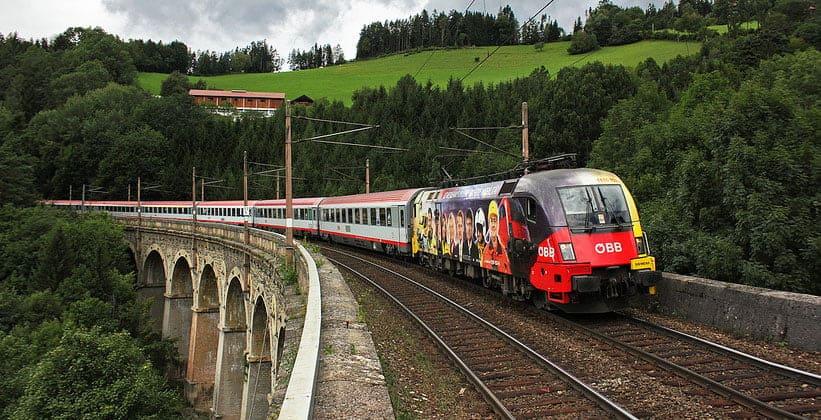Дорога в Хорватию на поезде