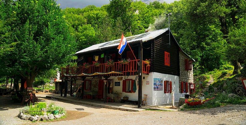Горная хижина Национального парка Пакленица (Хорватия)