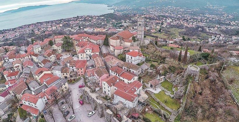 Городок Кастав в Хорватии