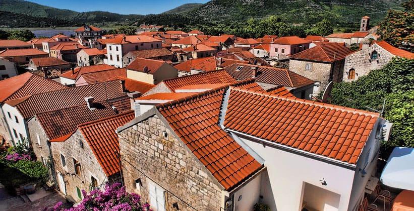 Городок Стон в Хорватии