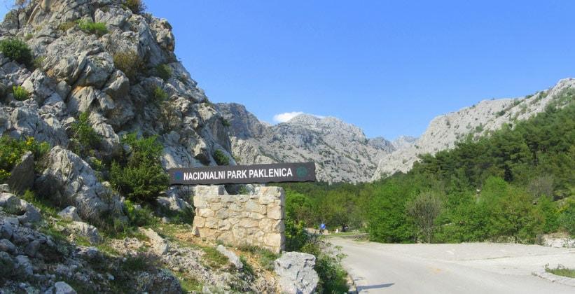 Хорватский парк Пакленица