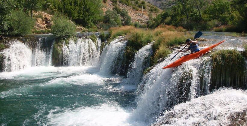 Красоты Национального парка Пакленица в Хорватии
