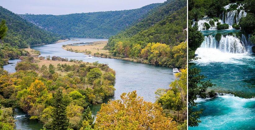 Красоты Национального парка Крка в Хорватии