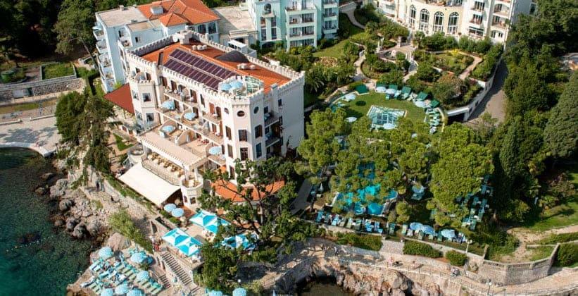 Отель Miramar в городе Опатия (Хорватия)