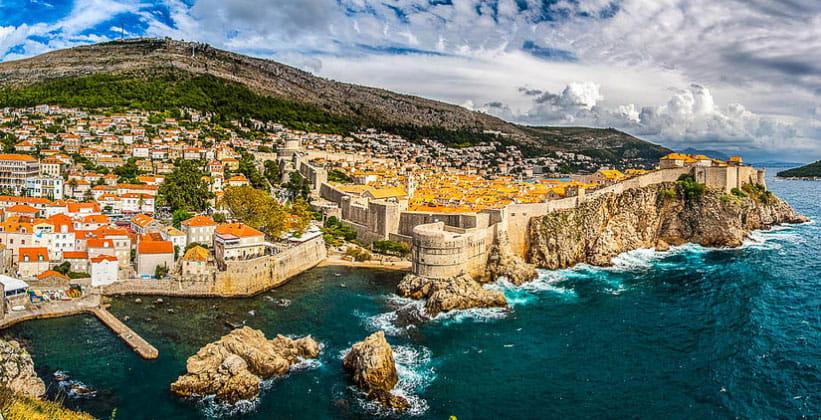 Панорама Дубровника (Хорватия)