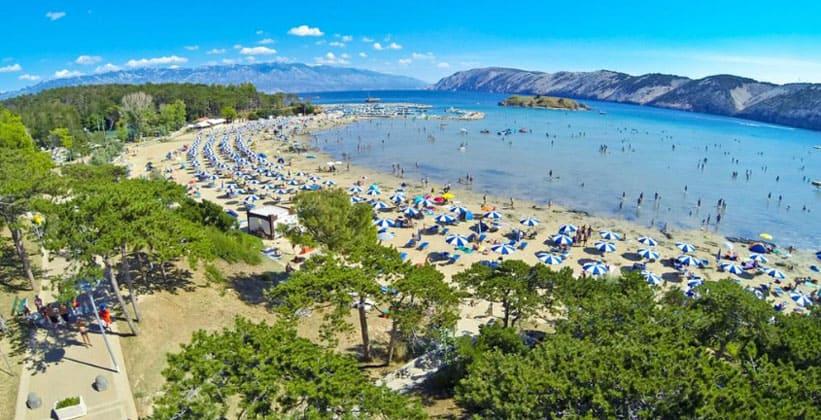 Полуостров Лопар в Хорватии