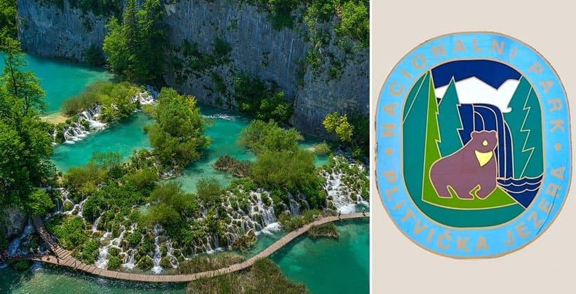 Национальный парк Плитвицкие озёра в Хорватии