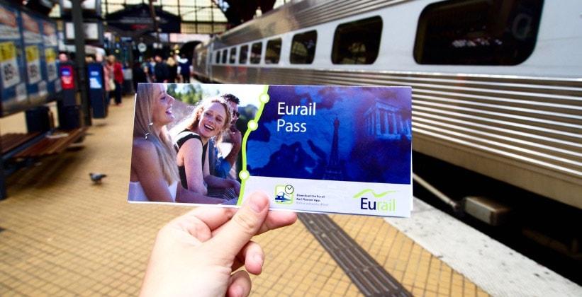 Железнодорожные проездные Eurail Pass