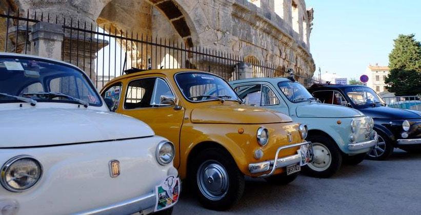 Раритетные автомобили Пулы (Хорватия)