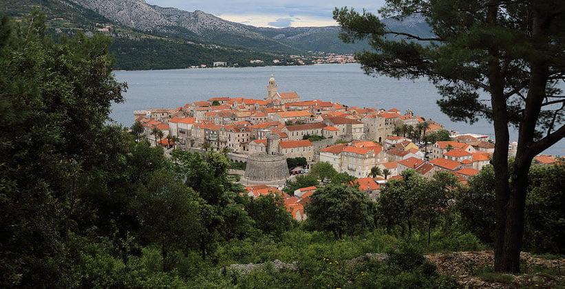 Деревня Вигань в Хорватии