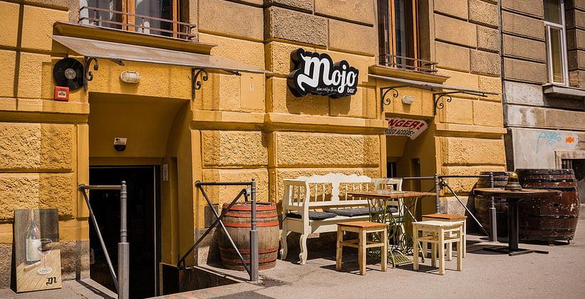 Бар Mojo в Загребе (Хорватия)