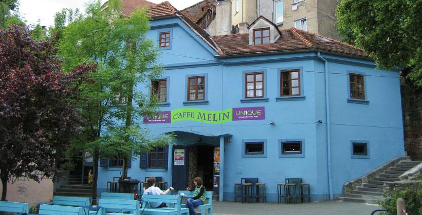 Кафе Melin в Загребе (Хорватия)