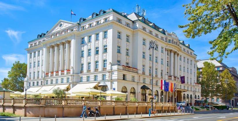 Отель Esplanade в Загребе (Хорватия)