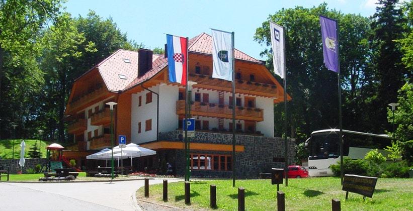 Отель Tomislavov Dom в Загребе (Хорватия)