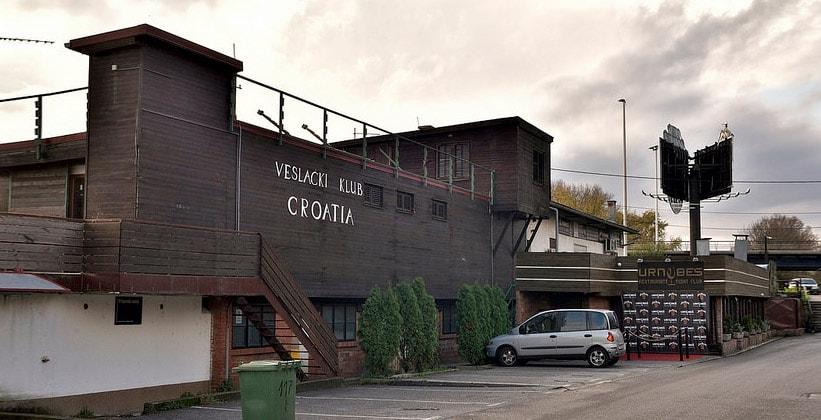 Ночной клуб Veslacki в Загребе (Хорватия)