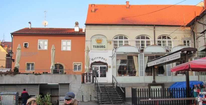 Ресторан Kerempuh в Загребе