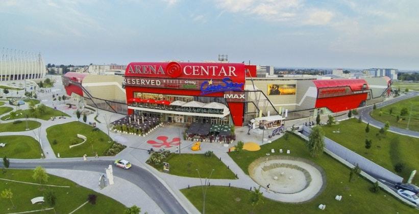 Торговый центр Arena в Загребе (Хорватия)