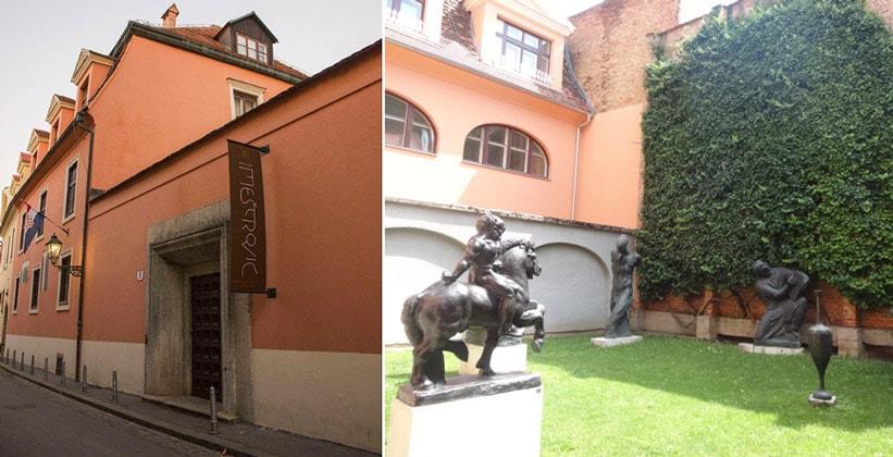 Ателье Мештровича в Загребе