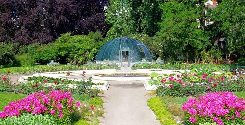 Ботанические сады в Загребе