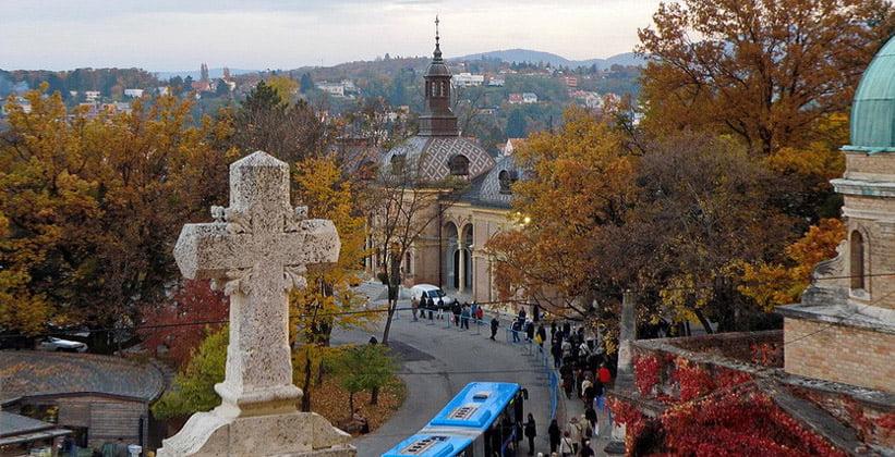 Мирогойское кладбище Загреба (Хорватия)
