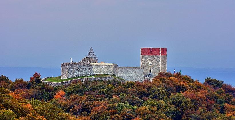 Крепость Медведград в Загребе (Хорватия)