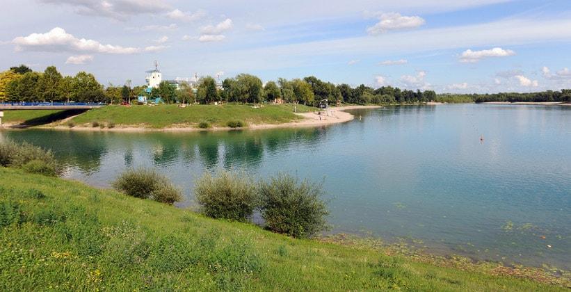 Озеро Ярун (окрестности Загреба)