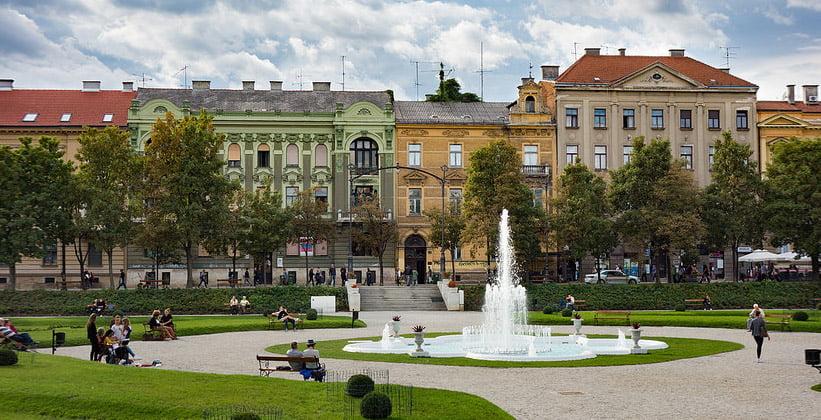 Площадь короля Томислава в Загребе