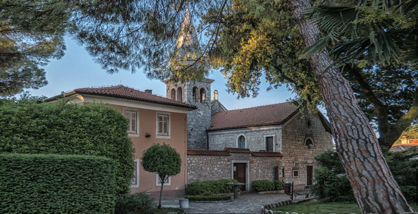Церковь Святого Якова в Опатии (Хорватия)
