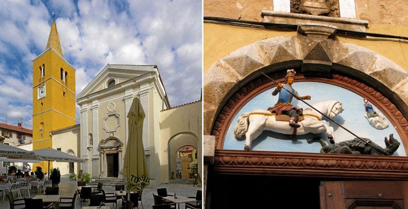 Церковь Святого Георгия в Ловране (Хорватия)