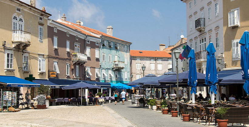 Город Црес в Хорватии