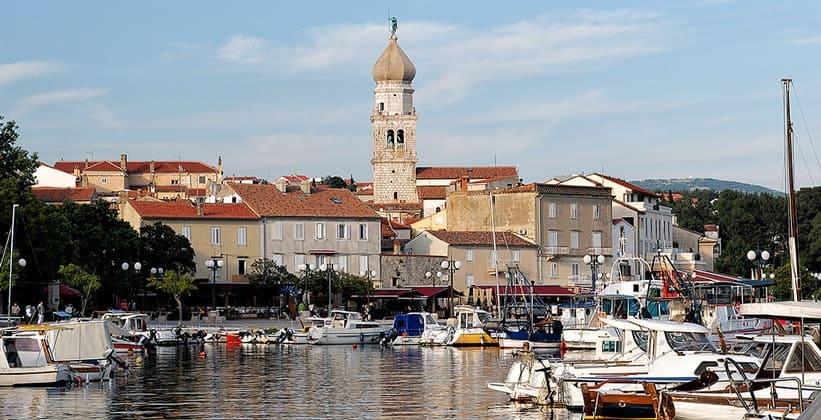 Город Крк в Хорватии