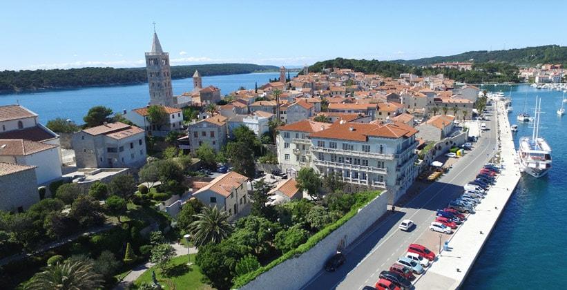 Город Раб в Хорватии