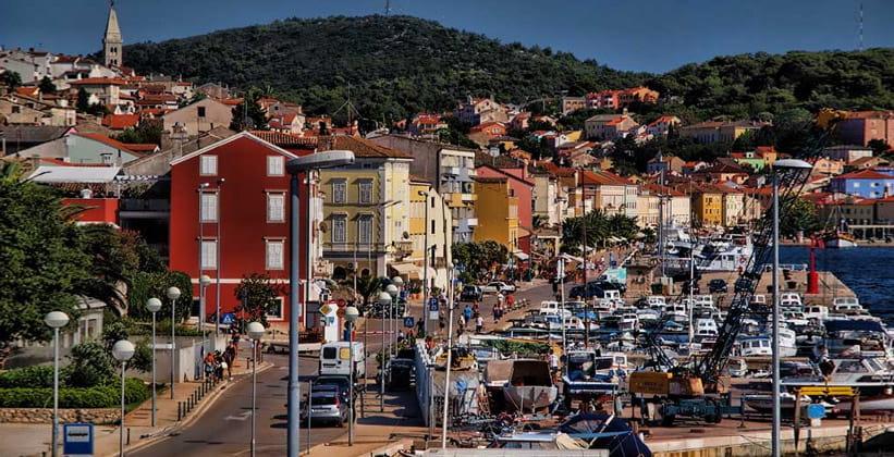 Город Вели-Лошинь в Хорватии