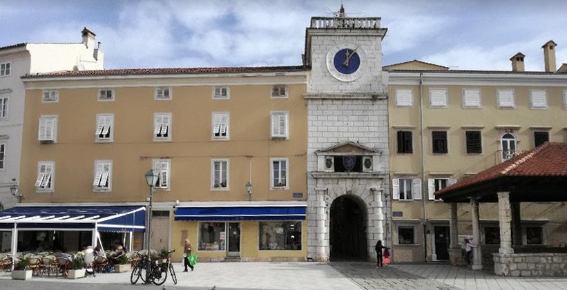 Городские ворота Цреса (Хорватия)