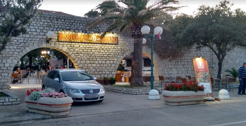 Ресторан Grand в городе Раб (Хорватия)