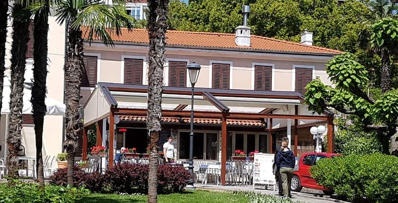 Ресторан Knezgrad в Ловране (Хорватия)