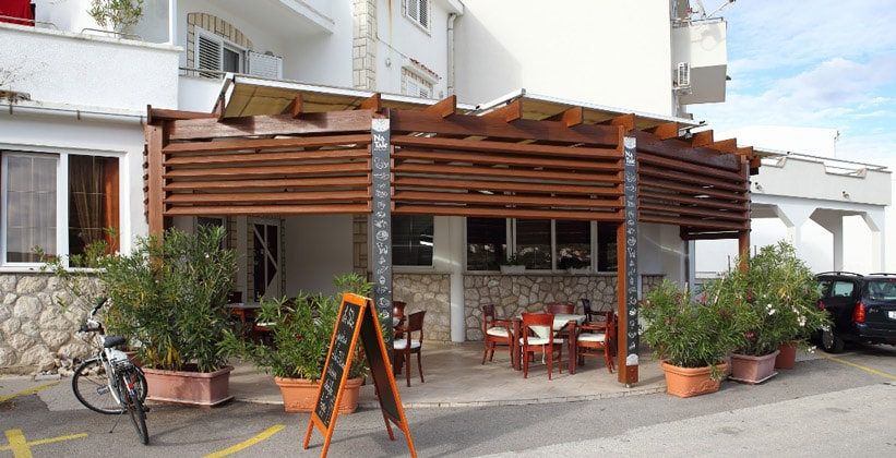 Ресторан Na Tale в городе Паг (Хорватия)