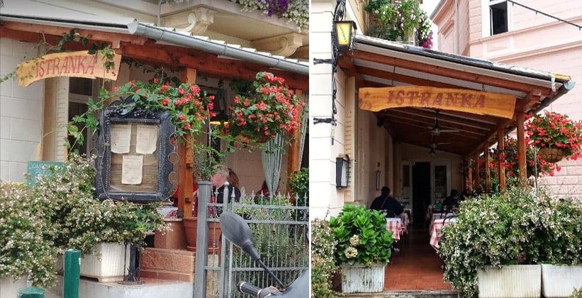 Таверна Istranka в Опатии