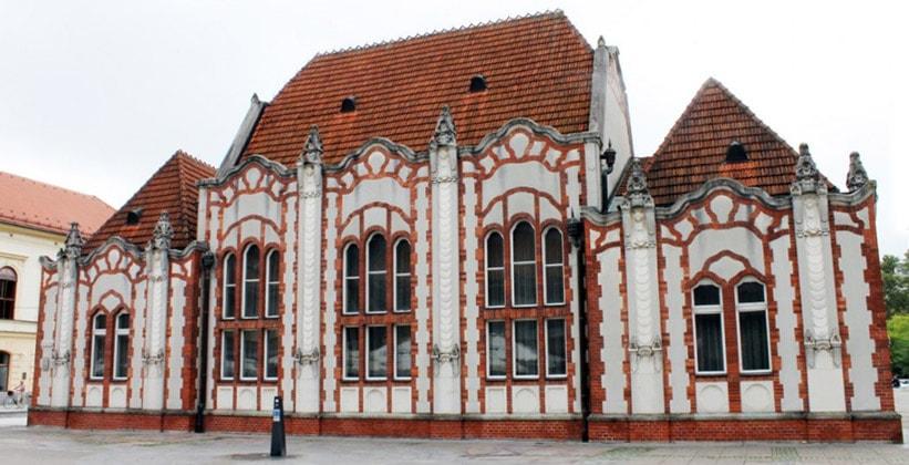 Экстравагантное здание Казино в городе Чаковец (Хорватия)