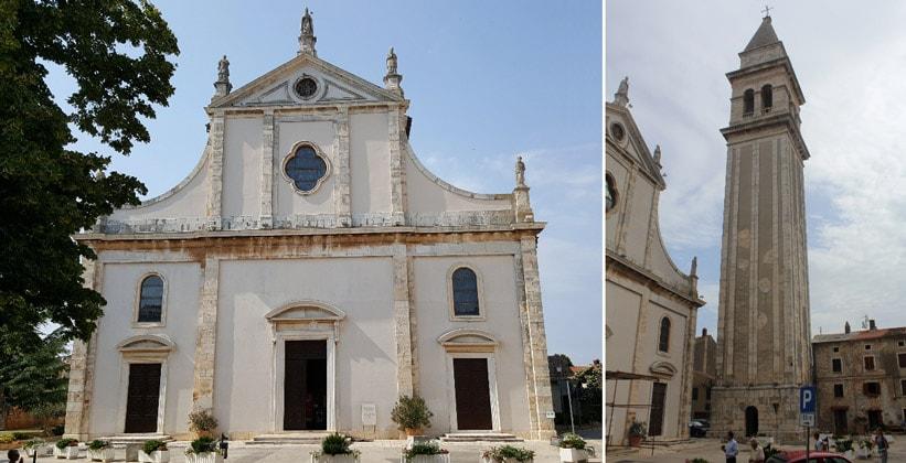 Церковь Святого Блаза в городе Воднян (Хорватия)