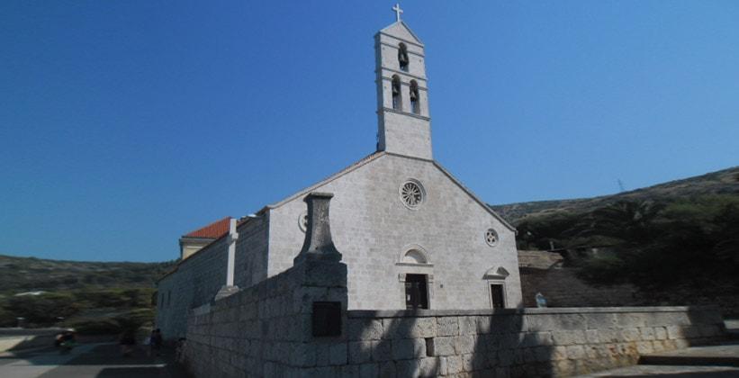 Церковь Пресвятой Богородицы в городе Вис