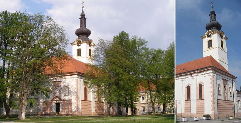 Церковь Святого Николая в Копривнице