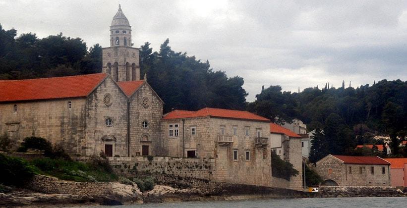 Церковь Святого Николая в городе Корчула (Хорватия)