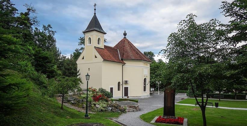 Церковь Святой Екатерины в деревне Стубичке-Топлице (Хорватия)