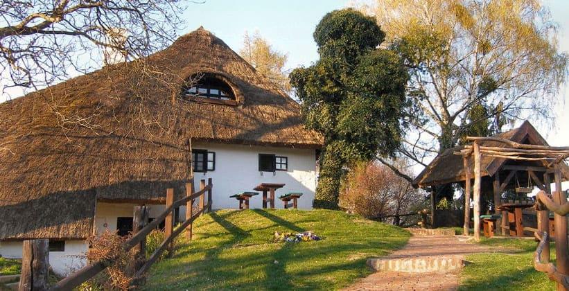 Деревня Хлебине в Хорватии