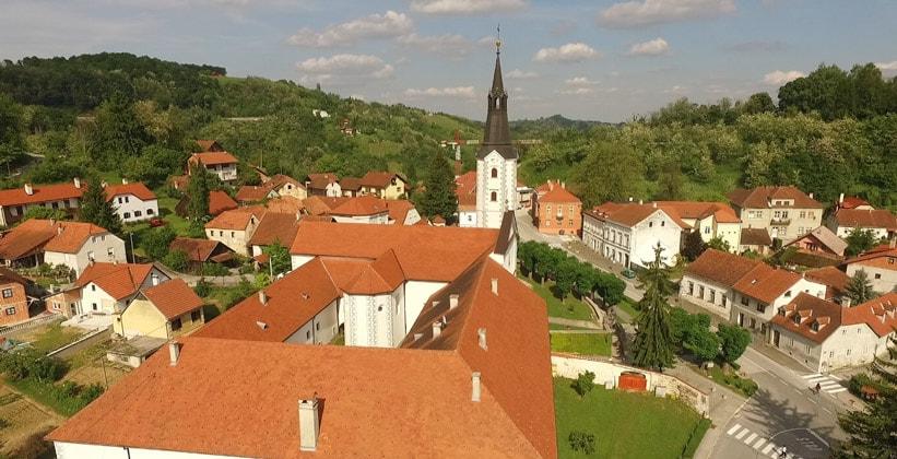 Деревня Кланец в Хорватии