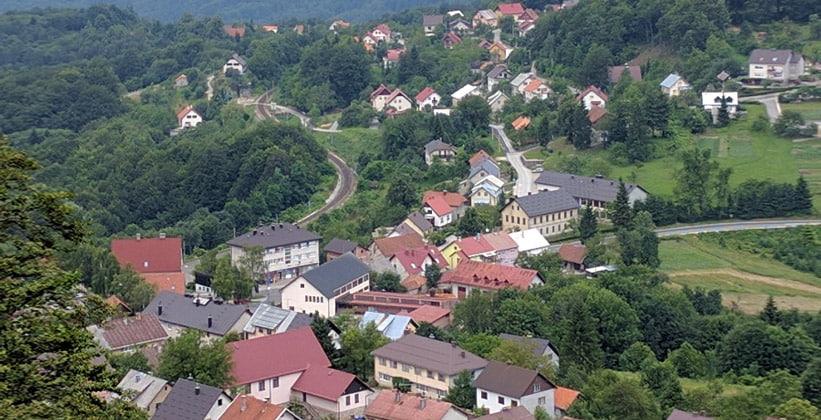 Деревня Скрад в Хорватии